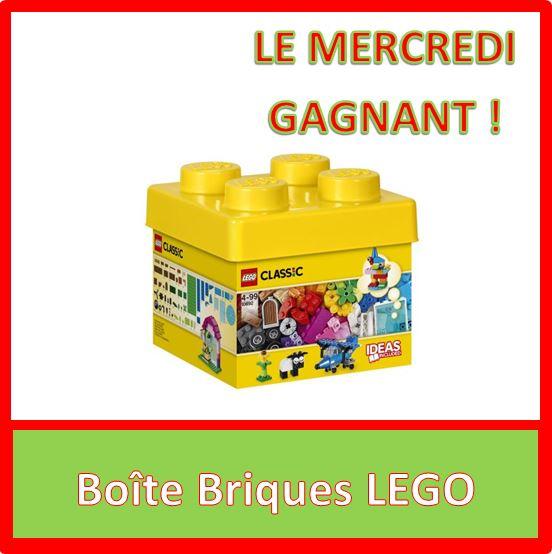 Boîte Briques LEGO