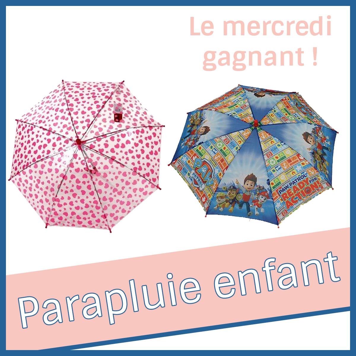 Un parapluie pour enfant