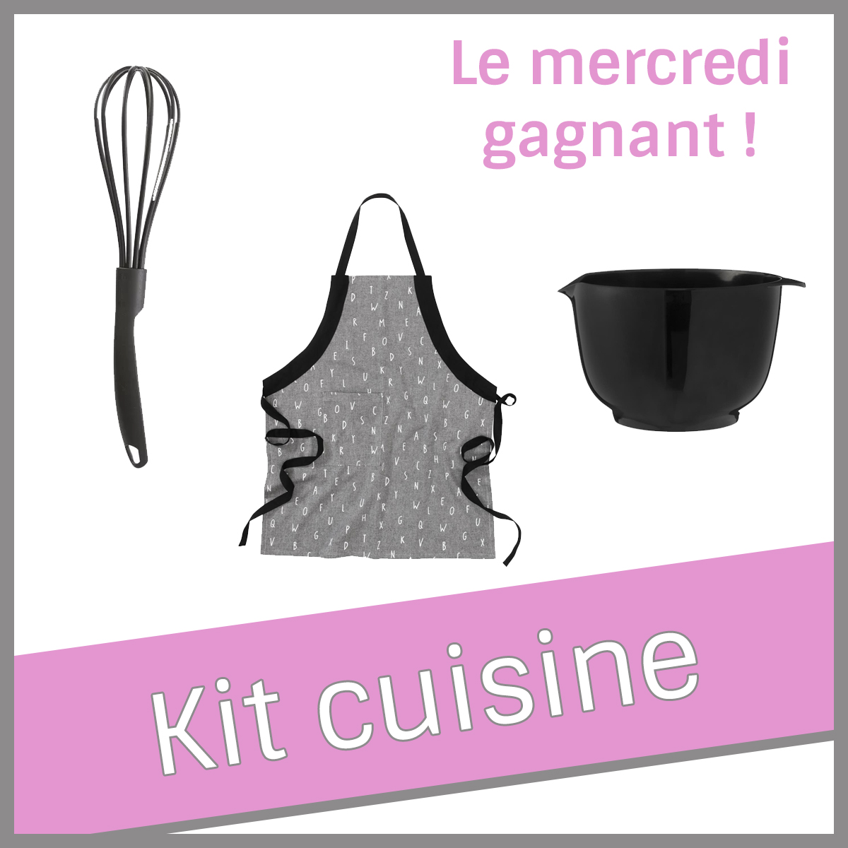 Kit cuisine Chandeleur